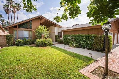 Northridge Single Family Home For Sale: 17041 Calahan Street