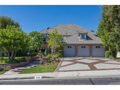 Calabasas Single Family Home For Sale: 5429 Wellesley Drive