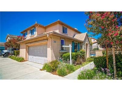 Valencia Single Family Home For Sale: 27803 Summer Grove Place
