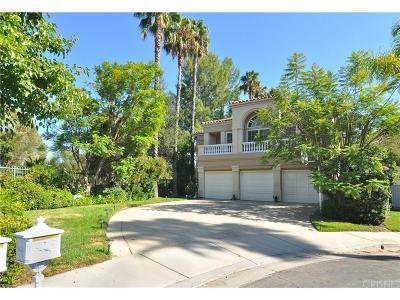 Calabasas Single Family Home For Sale: 23102 Park Marco Polo