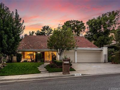 Calabasas Single Family Home For Sale: 4215 Park Alisal