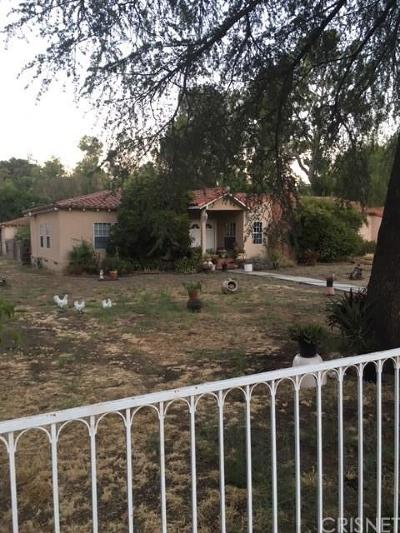Tarzana Single Family Home For Sale: 6008 Melvin Avenue