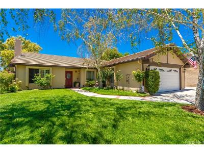 Newhall Single Family Home For Sale: 18711 Cedar Valley Way