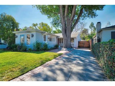 Toluca Lake Single Family Home For Sale: 11110 Landale Street