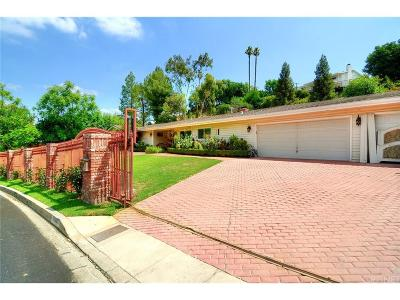 Woodland Hills Single Family Home For Sale: 20236 Lorenzana Drive