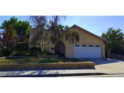 Valencia Single Family Home For Sale: 25315 Via Ramon