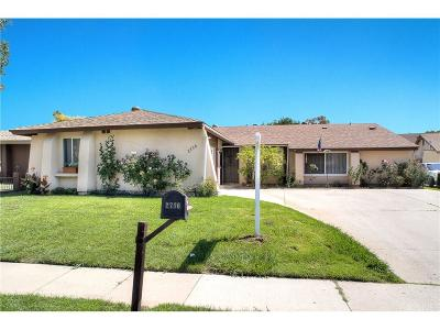 Simi Valley Single Family Home For Sale: 2736 Royal Avenue