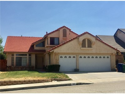 Palmdale Single Family Home For Sale: 3116 Wellington Drive