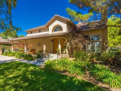 Acton Single Family Home For Sale: 32218 Joaquin Drive