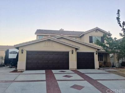 Palmdale Single Family Home For Sale: 37133 Visions Street