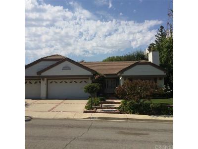 Thousand Oaks Single Family Home For Sale: 488 Twin Oaks Court