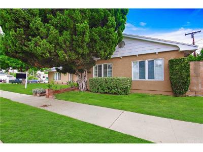 Northridge Single Family Home For Sale: 18715 Plummer Street