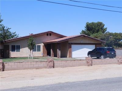 Quartz Hill CA Single Family Home For Sale: $425,000