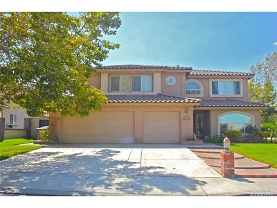 Palmdale Single Family Home For Sale: 37355 Del Mar Street