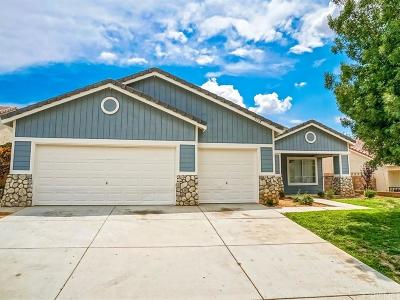 Palmdale Single Family Home For Sale: 3338 Tamarisk Drive