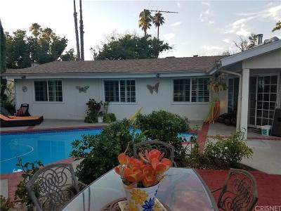Woodland Hills Single Family Home For Sale: 20600 Oxnard Street