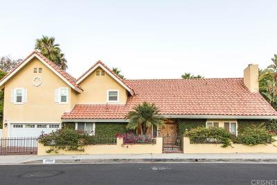 Woodland Hills Single Family Home For Sale: 4486 Winnetka Avenue