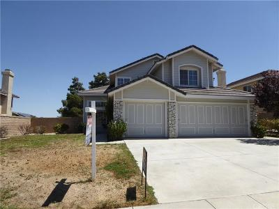 Palmdale Single Family Home For Sale: 36708 Copper Lane