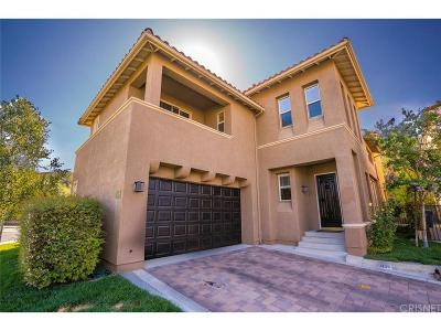 Calabasas Single Family Home For Sale: 4109 Via Mira Monte