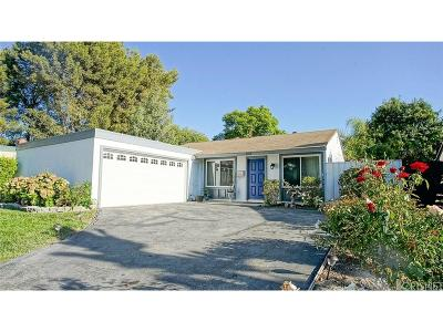 Thousand Oaks Single Family Home For Sale: 1888 Burning Tree Drive