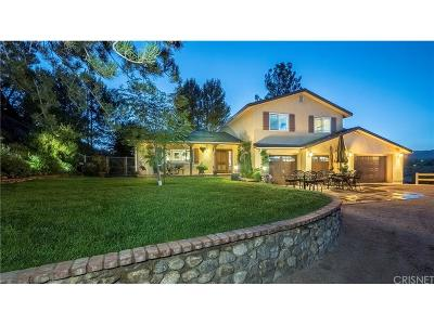 Acton Single Family Home For Sale: 31761 Lake Meadow Road