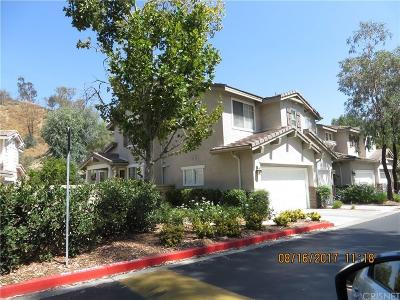Valencia Condo/Townhouse For Sale: 23139 Cheyenne Drive