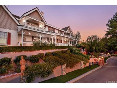 Agoura Hills Single Family Home For Sale: 6144 Chesebro