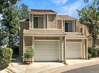 Valencia Condo/Townhouse For Sale: 24528 McBean #25
