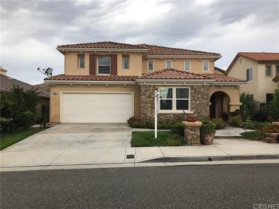 Castaic Single Family Home For Sale: 30067 Cambridge Avenue