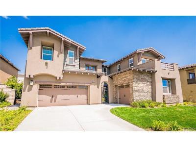 Valencia CA Single Family Home For Sale: $940,000