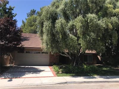 Valencia Single Family Home For Sale: 25469 Via Escovar