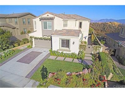 Valencia Single Family Home For Sale: 28750 Iron Village Drive