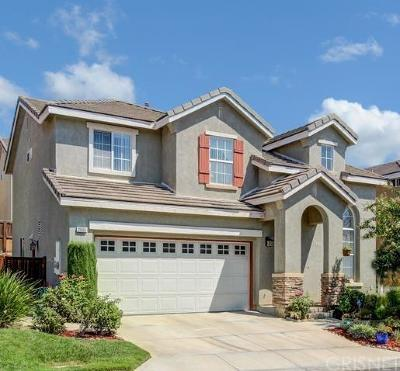 Saugus Single Family Home For Sale: 21555 Hibiscus Court