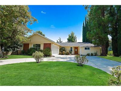 Woodland Hills Single Family Home For Sale: 6100 Sadring Avenue