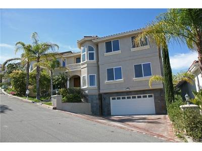 Newhall Single Family Home For Sale: 24845 Bella Vista Drive