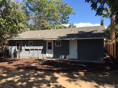 Newhall Single Family Home For Sale: 25049 Fourl Road