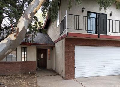 Lake Hughes Single Family Home For Sale: 14415 Hardtree Drive