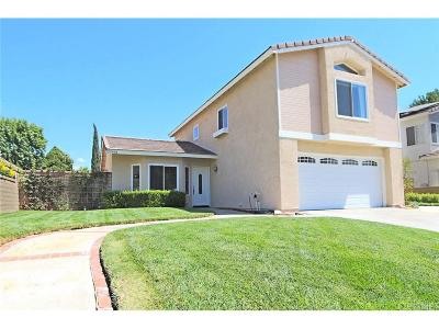 Castaic Single Family Home For Sale: 27608 Navajo Court