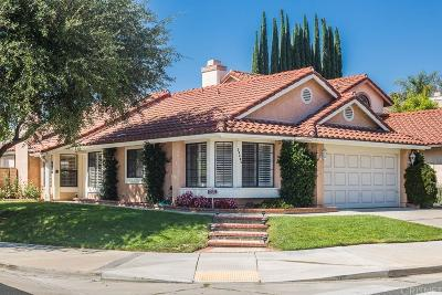 Calabasas Single Family Home For Sale: 26802 Live Oak Court