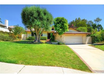 Tarzana Single Family Home For Sale: 4546 Conchita Way