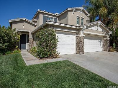 Canyon Country Single Family Home For Sale: 27160 Cherry Laurel Place