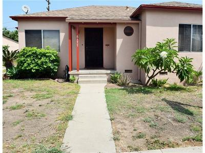 Los Angeles CA Single Family Home For Sale: $399,900