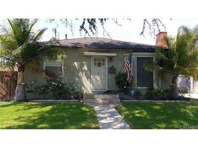 Culver City Single Family Home For Sale: 11891 Port Road