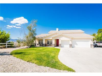 Acton Single Family Home For Sale: 2146 Cresta Trails