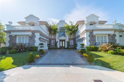 Tarzana Single Family Home For Sale: 19201 Allandale Drive