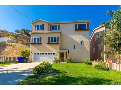 Castaic Single Family Home For Sale: 29752 Central Avenue