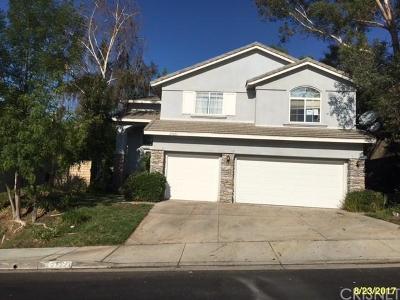 Valencia Single Family Home For Sale: 27221 Blueridge Drive
