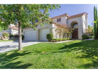 Newhall Single Family Home For Sale: 23704 Oak Circle