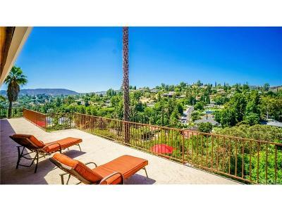 Tarzana Single Family Home For Sale: 4905 Tarzana Woods Drive