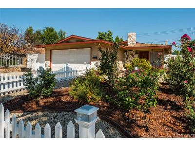 Northridge Single Family Home For Sale: 19215 Napa Street